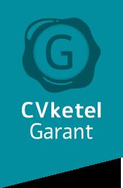 Logo CV ketel garant